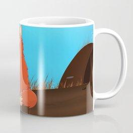 Fox in the countryside Coffee Mug