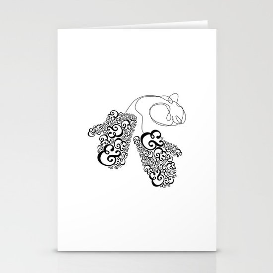 Ampersand Mittens Stationery Cards