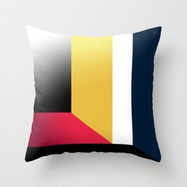 Abstract Walls. Throw Pillow