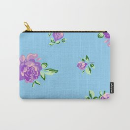Blue Joys of Spring Carry-All Pouch