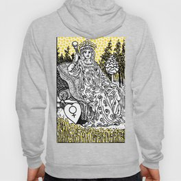 Modern Tarot Design - 3 The Empress Hoody