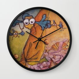 look inside!! Wall Clock