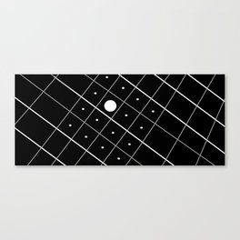 Spying Abstract Canvas Print