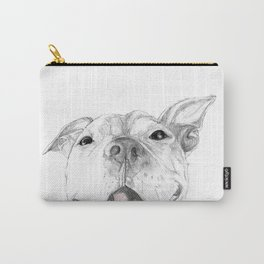 Whaddup :: A Pit Bull Smile Carry-All Pouch