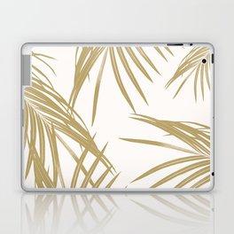 Gold Palm Leaves Dream #1 #tropical #decor #art #society6 Laptop & iPad Skin