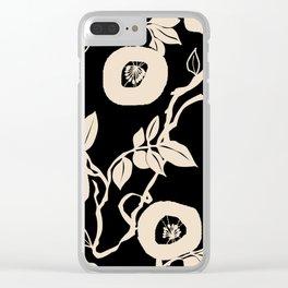 trailing vine Clear iPhone Case