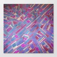 tina Canvas Prints featuring Tina by Marina Scheinost