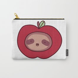 Apple Sloth Face Carry-All Pouch