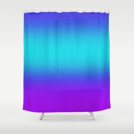 Re-Created Color Field No. 9 by Robert S. Lee Shower Curtain