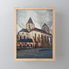 Saint Thomas church Framed Mini Art Print