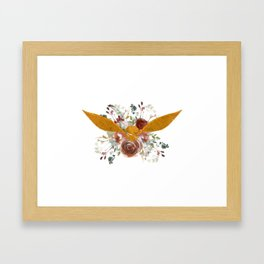 Golden Snitch Framed Art Print