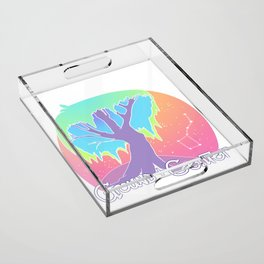 Ground & Center Acrylic Tray