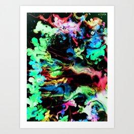 Colora Art Print