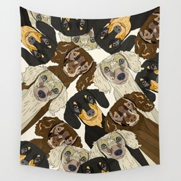 Doxie Nation Wall Tapestry