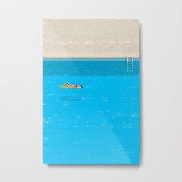 pool-1 Metal Print