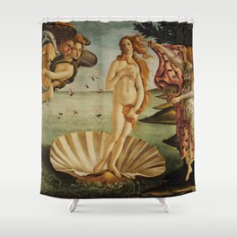 The Birth of Venus by Sandro Botticelli Shower Curtain
