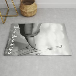 "Los Angeles ""City of Angels"" Black and white edition Rug"