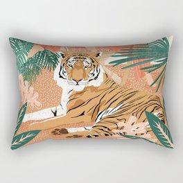 Tiger Leader Rectangular Pillow