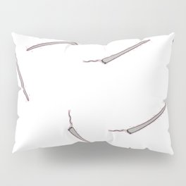 All my Joints white Pillow Sham