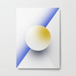 Shape Studies: Circle IV Metal Print