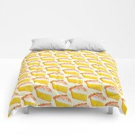 Lemon Meringue Pie Pattern Comforters
