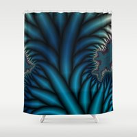 chakra Shower Curtains featuring Soul Chakra by Christy Leigh
