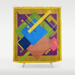 Geometric illustration 29 Shower Curtain