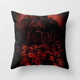 WOLFTHRONE Throw Pillow