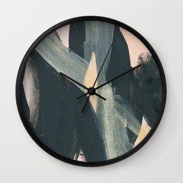 abstract painting IV Wall Clock