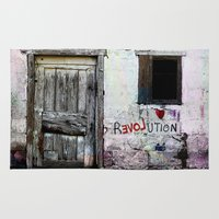 revolution Area & Throw Rugs featuring rEVOLution by Bärdie D/Sign
