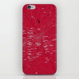 FanMap   NCAA UGA #02 iPhone Skin