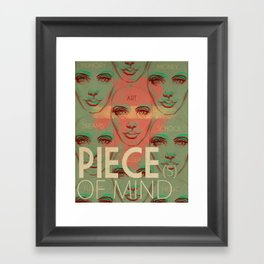 Piece(s) of Mind Framed Art Print