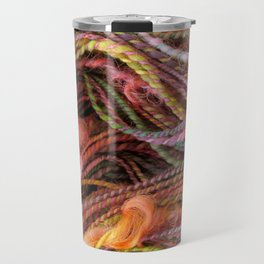 Spring Orchard - Handspun and dyed Yarn Travel Mug