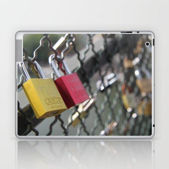 key to my heart Laptop & iPad Skin