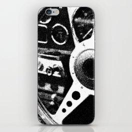 """Classic Car Wheel"" iPhone Skin"