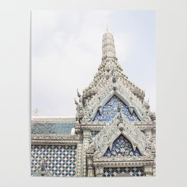 Painted Tiles in the Grand Palace Poster