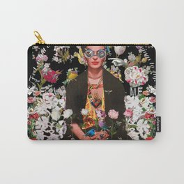 Frida OTT Kahlo You Are Too Much Carry-All Pouch