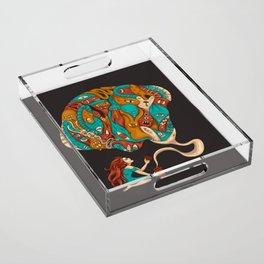 Pandora's Box Acrylic Tray