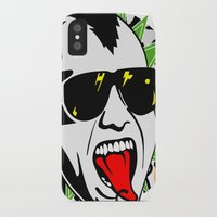 punk iPhone & iPod Cases featuring punk by mark ashkenazi