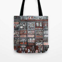 Life in 25 Square Feet Tote Bag