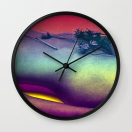 """""""Kinky Mother Earth"""" by Nacho Dung Wall Clock"""