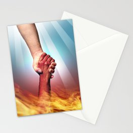 God and Devil Stationery Cards