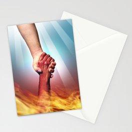 God and Devil Stationery Cards