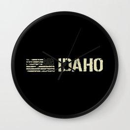 Black Flag: Idaho Wall Clock