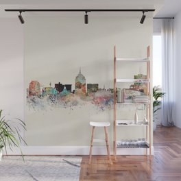 fresno skyline Wall Mural