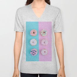 Sweet doughnuts Unisex V-Neck