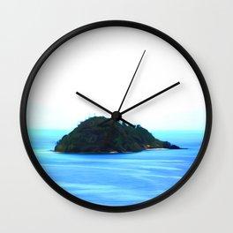 Iceland art Twi Wall Clock