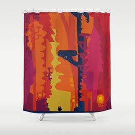 Hommage to Chris Shower Curtain
