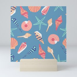 Colorful Seashells Mini Art Print