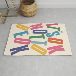 It's OK not to be OK! Rug